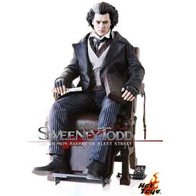 Hot Toys Brasil :: Boneco Johnny Depp do filme Sweeney Todd (Tim Burton)