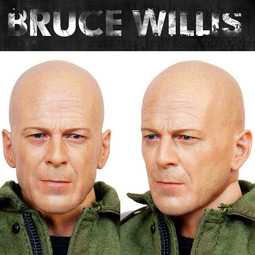 Hot Toys Bruce Willis (Joe Colton) Gi Joe Retaliation Action Figures escala 1/6