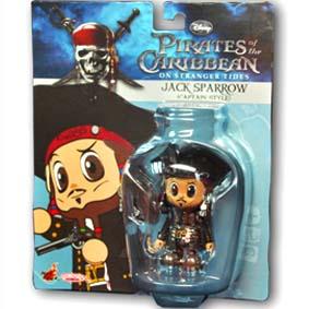 Hot Toys Comprar no Brasil Cosbaby :: Boneco do Capitão Jack Sparrow Action Figure