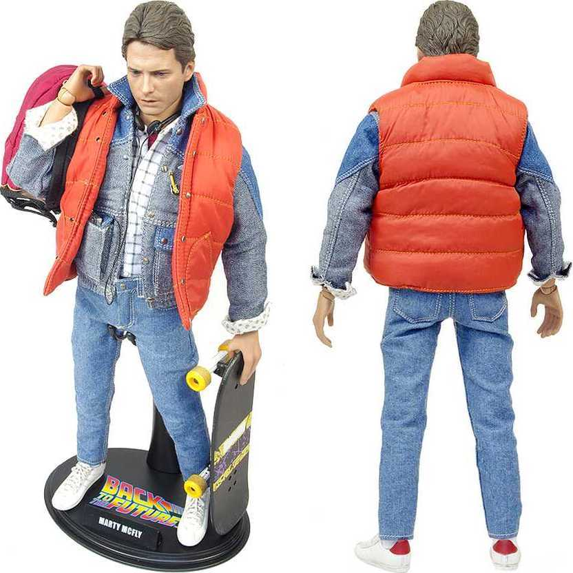 Hot Toys De Volta para o Futuro Back to The Future Marty McFly MMS257 escala 1/6