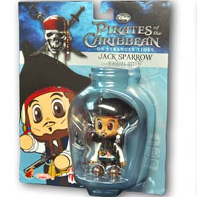 Hot Toys do Brasil Cosbaby :: Boneco do Capitão Jack Sparrow Action Figure