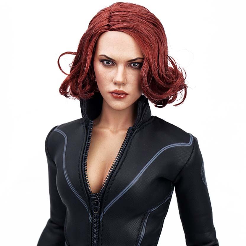 Hot Toys Marvel The Avengers Black Widow (Viúva Negra) escala 1/6