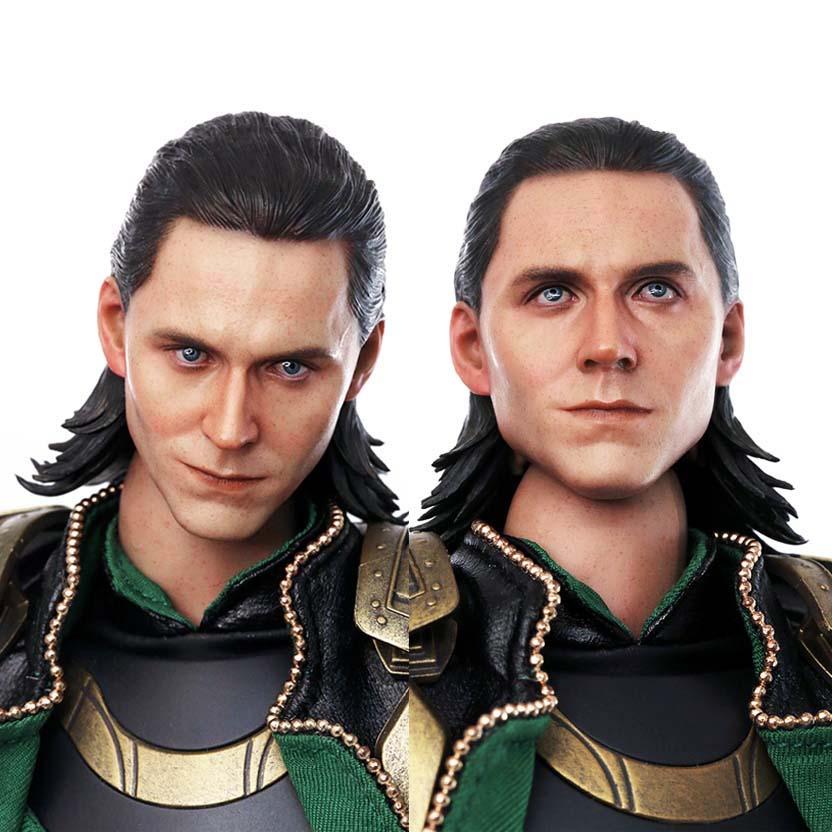 Hot Toys Marvel The Avengers Loki escala 1/6