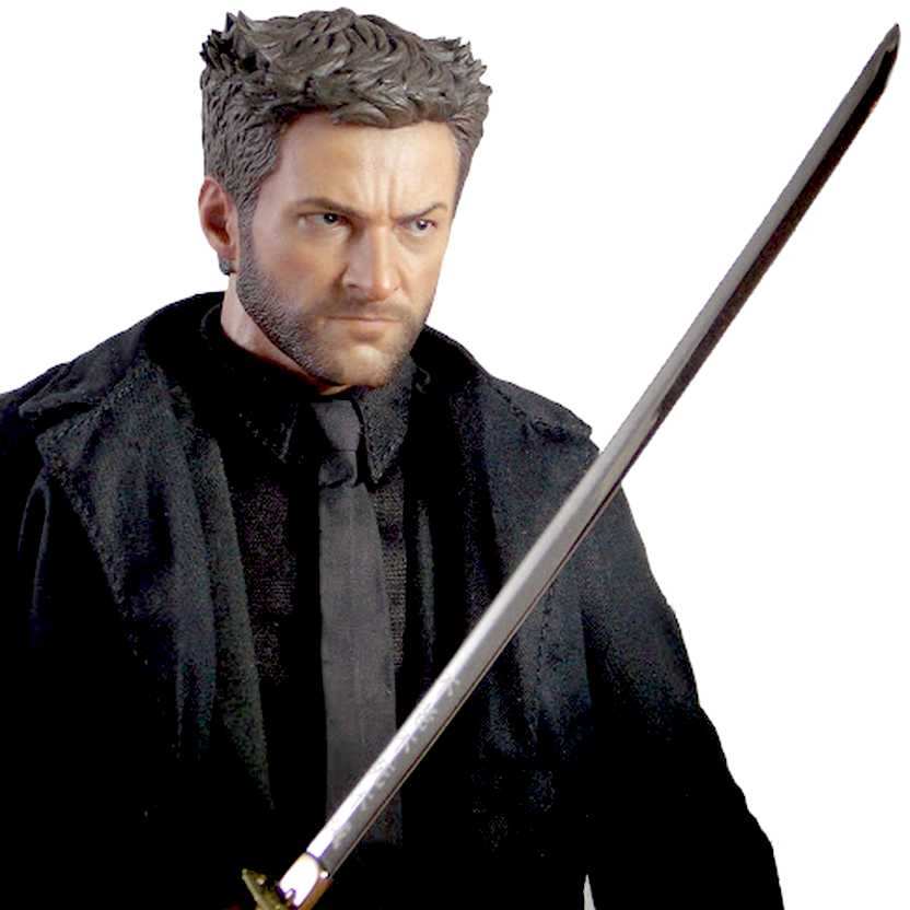 Hot Toys MMS220 The Wolverine Imortal ( Hugh Jackman ) action figure escala 1/6