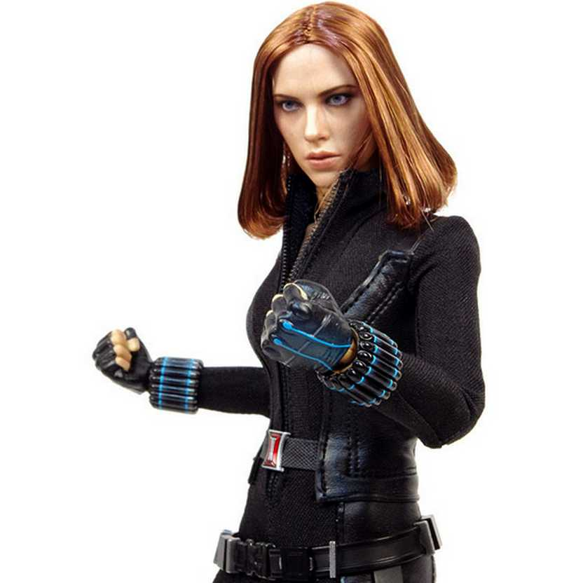 Hot Toys MMS239 Black Widow 2014 - Captain America: The Winter Soldier Scarlett Johansson