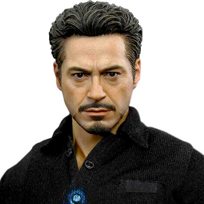 Hot Toys MMS273 Tony Stark Iron Man 2 - Homem de Ferro II - HotToys escala 1/6 com luz