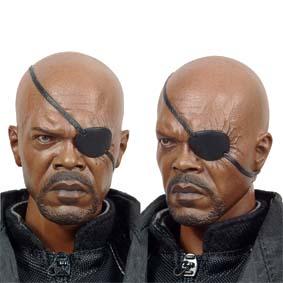 Hot Toys Nick Fury The Avengers Samuel L. Jackson Action Figure - Bonecos 1/6
