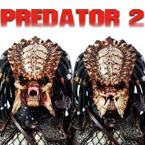 Hot Toys Predator 2 City Hunter Action Figure - Boneco Predador 2 HotToys