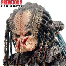 Hot Toys Predator 2 Elder - Predador muito RARO da HotToys