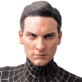 Hot Toys Spider-Man 3 - Black with Sandman : HotToys Homem Aranha III preto
