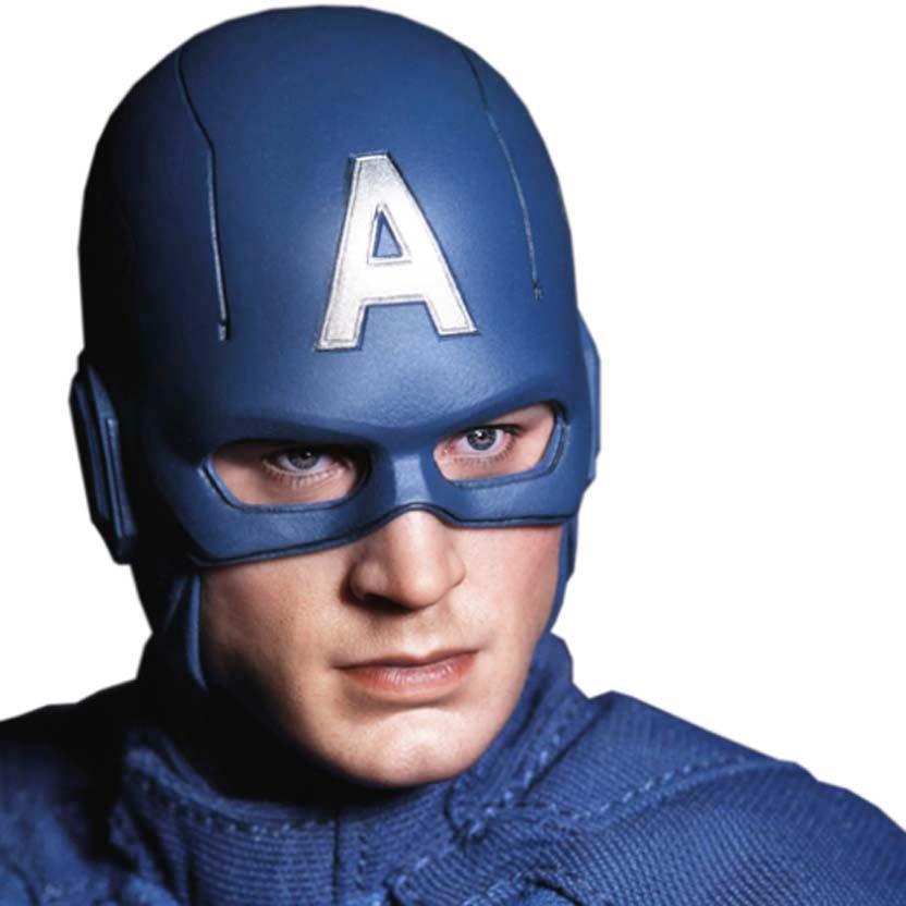 Hot Toys The Avengers Captain America ( Chris Evans ) Capitão América MMS 174