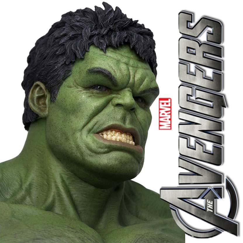 Hot Toys The Avengers Hulk MMS 186 Action Figure escala 1/6 (Os Vingadores)