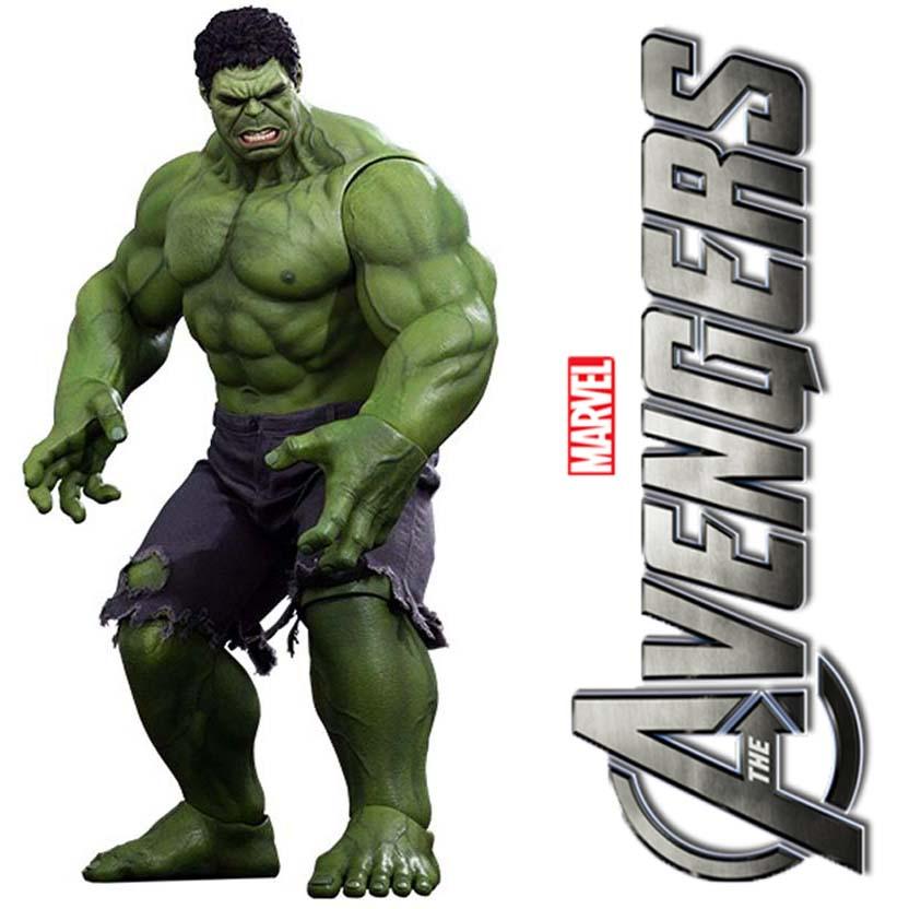 Hot Toys The Avengers Hulk Mms 186 Action Figure Escala 1 6 Os