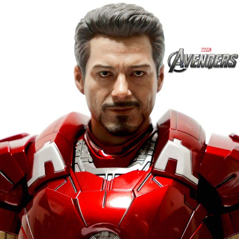 Hot Toys The Avengers Iron Man MARK VII MMS 185 Homem de Ferro 3 (Os Vingadores)