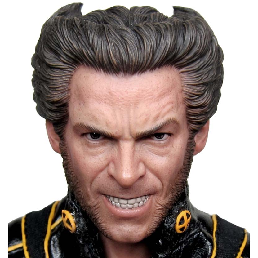 Hot Toys X-Men Wolverine The Last Stand Action Figure MMS 187 escala 1/6