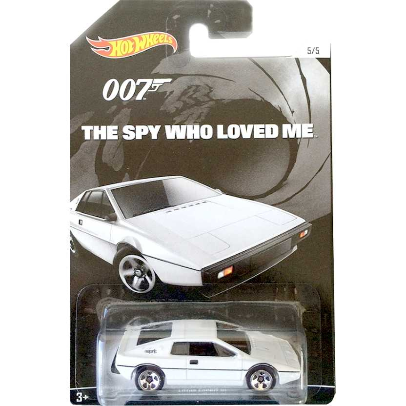 Hot Wheels 007 James Bond Lotus Esprit S1 The Spy Who Love Me CGB74 escala 1/64