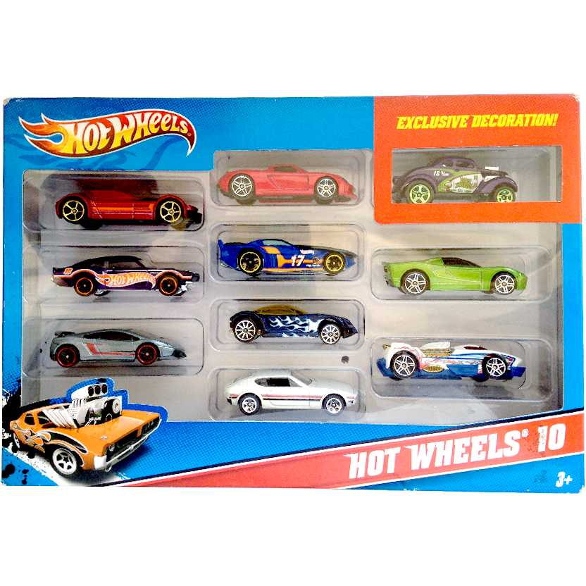 Hot Wheels 10 VW SP2, Ford Maverick, Lamborghini LP 570-4 Superleggera, Porsche Carrera GT