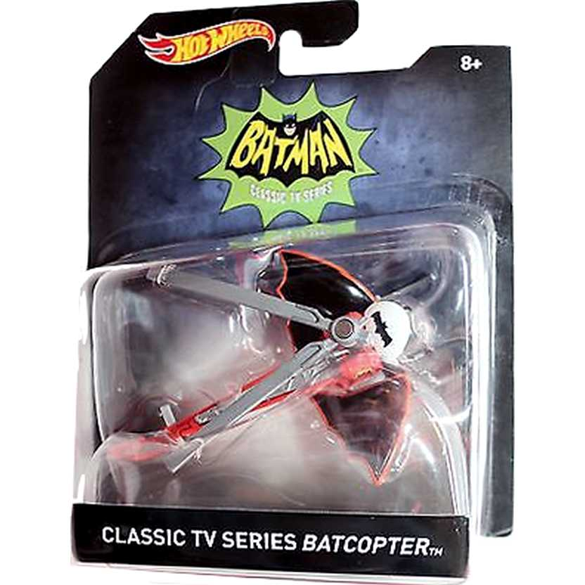 Hot Wheels 1966 Batcopter Classic TV series - escala 1/50 DKL24-0910