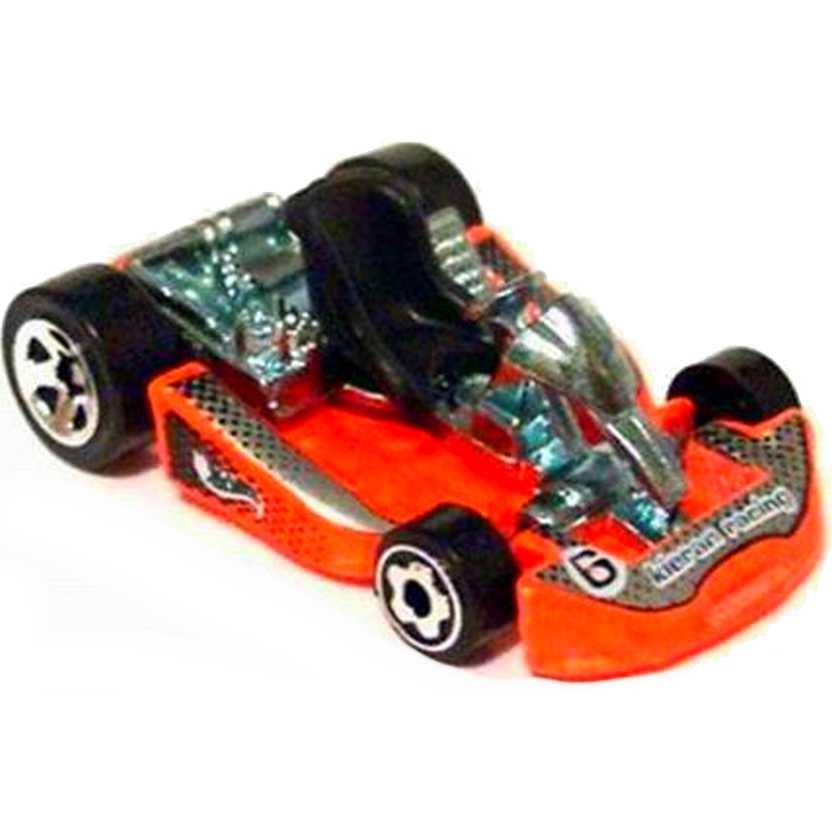 hot wheels 2001 go kart laranja escala 1 64 141 50670. Black Bedroom Furniture Sets. Home Design Ideas