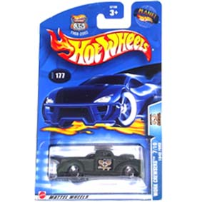 Hot Wheels 2003 Work Crewsers 1940 Ford Pickup 57168 series 177 7/10
