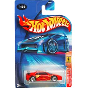 Hot Wheels 2004 Ferrari 355 Challenge B3850 series 129 2/5