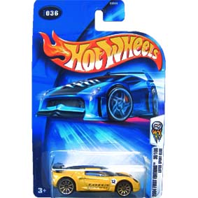 Hot Wheels 2004 Lotus Sport Elise First Edition B3544 series 036 36/100