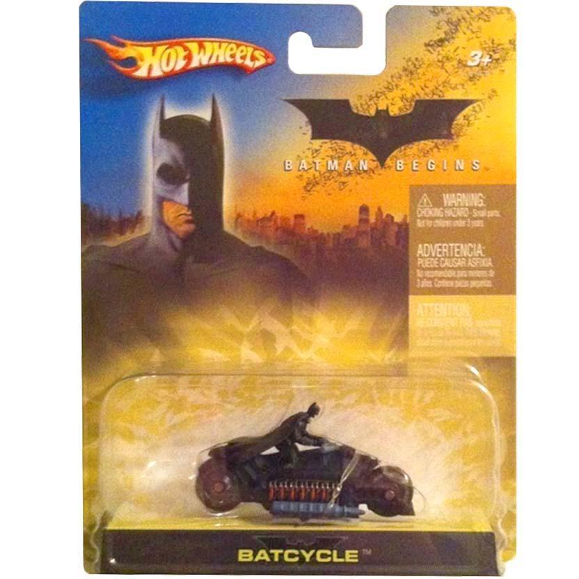 Hot Wheels 2005 Batman Begins Batcycle H6296