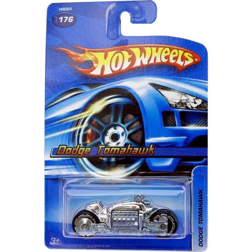 Hot Wheels 2005 Dodge Tomahawk cromada series 176 H9084 escala 1/64