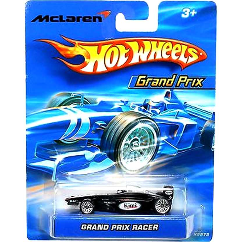 Hot Wheels 2006 Grand Prix Racer McLaren Kimi Raikkonen H9975 escala 1/64
