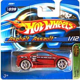 Hot Wheels 2006 Thunt Asphalt Assault J3281 series 1/12 039/2006 escala 1/64