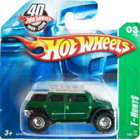 Hot Wheels 2008 Super T-Hunt$ Rockster M6969S series 03/12 163/172