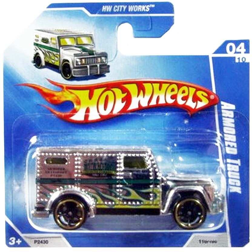 Hot Wheels 2009 Armored Truck P2430 series 04/10 110/166