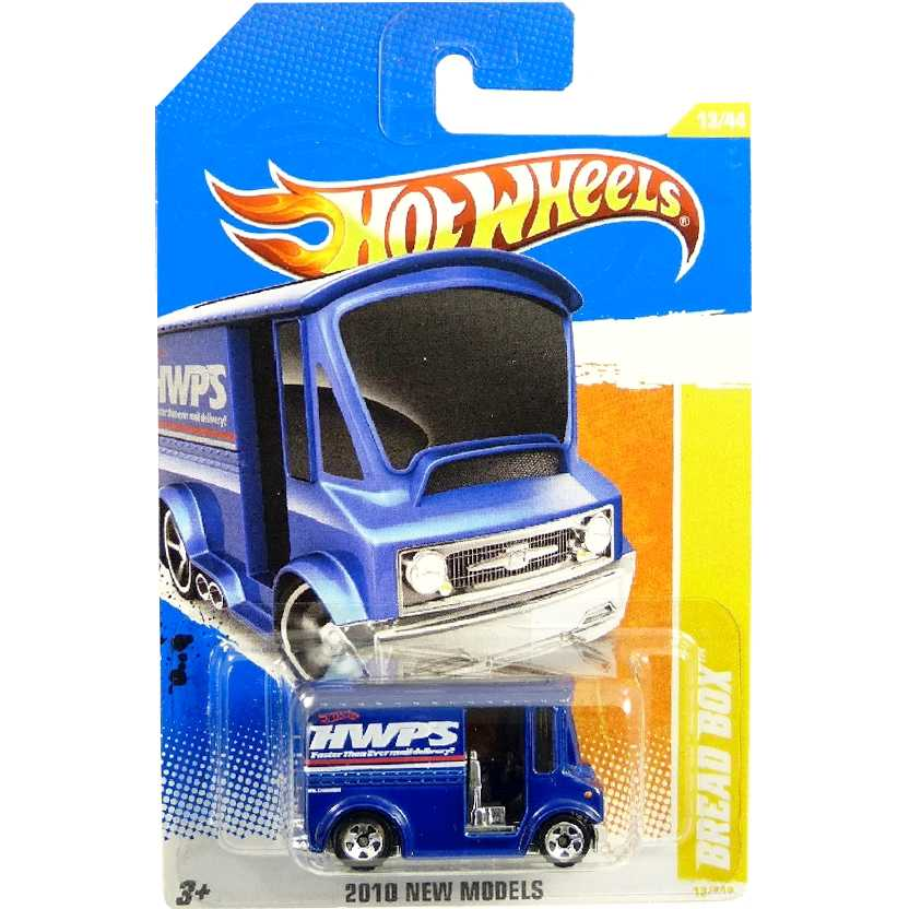 Hot Wheels 2010 Bread Box azul series 14/52 14/214 R0929 escala 1/64