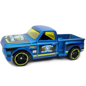 Hot Wheels 2012 Custom 69 Chevy Pickup V5654 series 10/10 140/247
