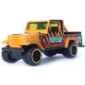 Hot Wheels 2012 Jeep Scrambler V5522 series 3/5 218/247