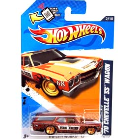 Hot Wheels 2012 Super Sized 70 Chevelle SS Wagon V5381 series 2/10 132/247