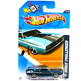 Hot Wheels 2012 Superized Super Treasure Hunts 71 Dodge Challenger V5374 2/10 82/247