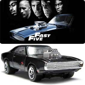 Hot Wheels 2013 Dodge Charger Fast And Furious (1970) Dominic Toretto X1663 3/250