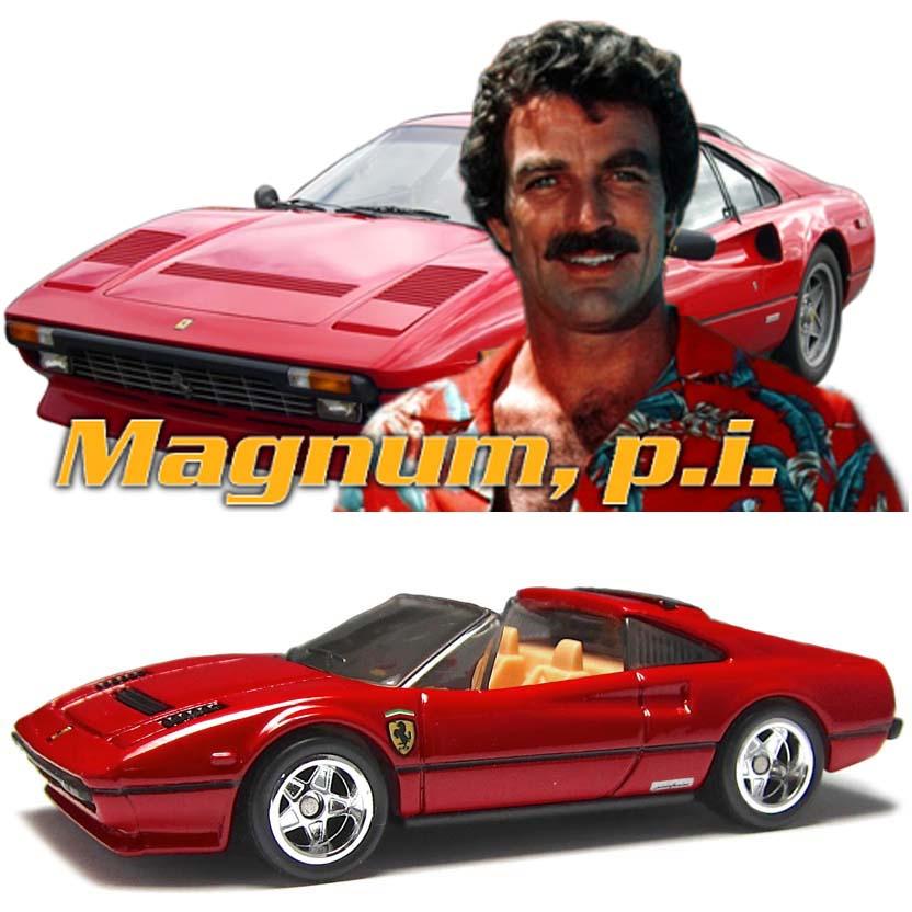 Hot Wheels 2013 Retro Entertainment Ferrari 308 GTS QV Magnum, p.i. X8908 1/64