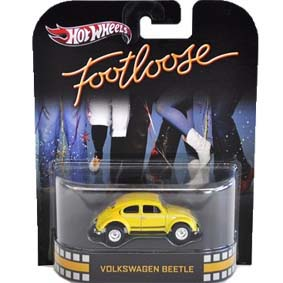 Hot Wheels 2013 : Retro Entertainment Footloose VW Fusca X8911 escala 1/64