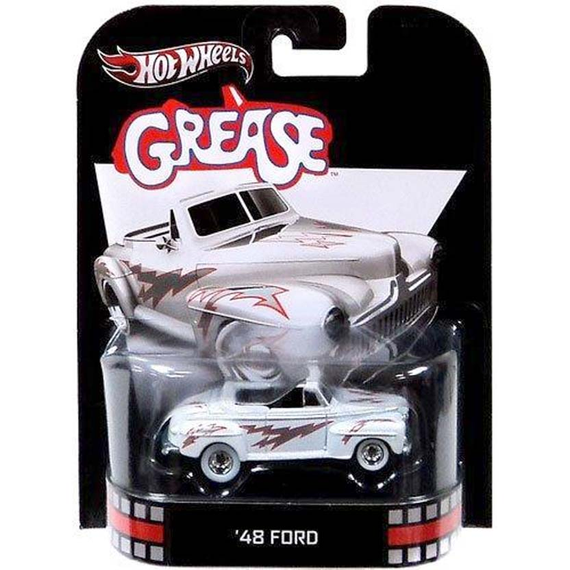 Hot Wheels 2013 Retro Entertainment Grease 48 Ford X8903