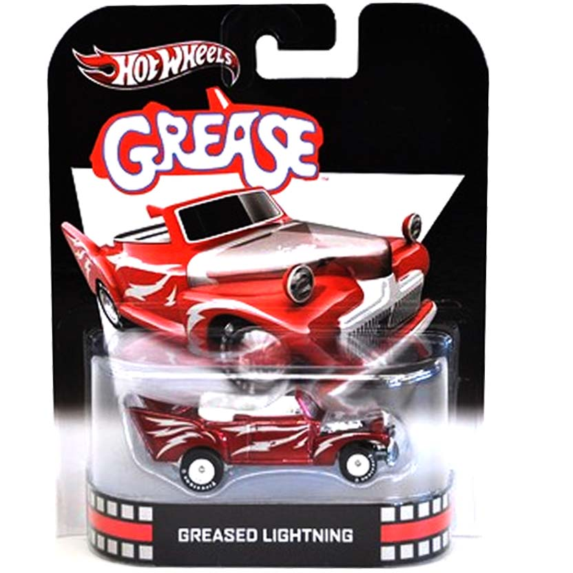 Hot Wheels 2013 Retro Entertainment Greased Lightning X8902