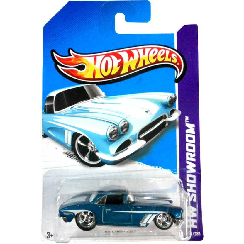 Hot Wheels 2013 Super Secret Treasure Hunt Superized 62 Corvette X2016 207/250