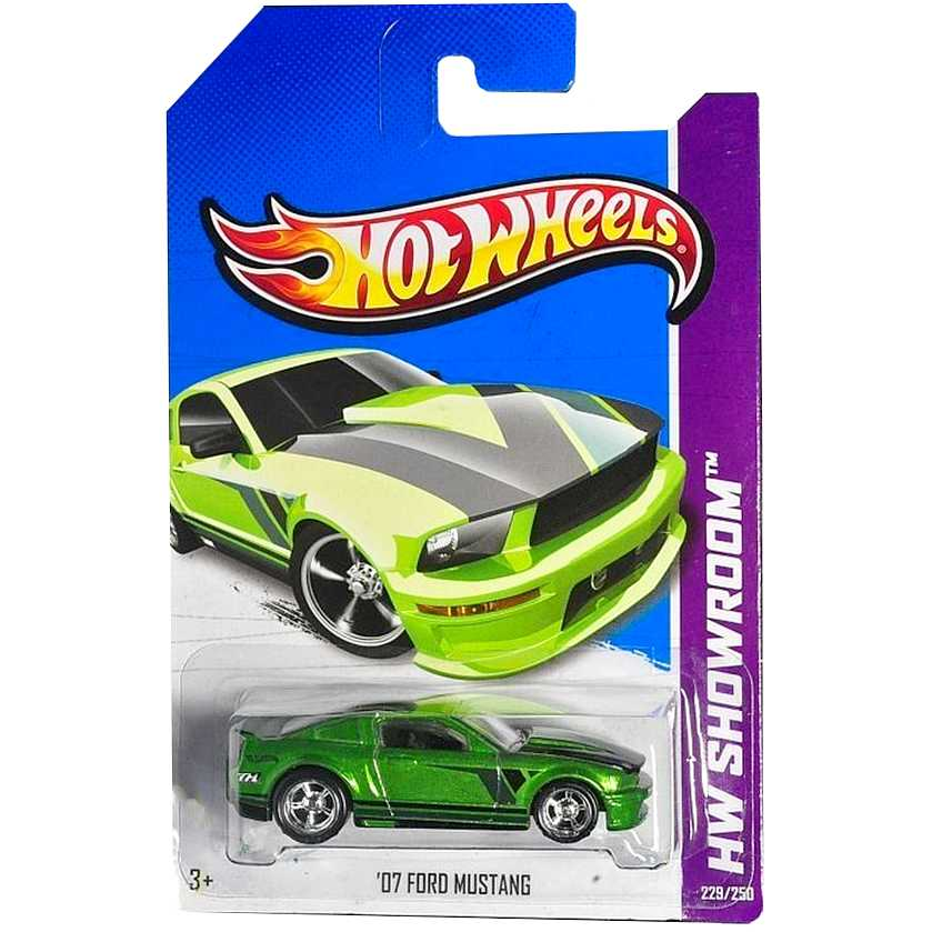 Hot Wheels 2013 Super Treasure Hunt Superized 07 Ford Mustang X2013 229/250