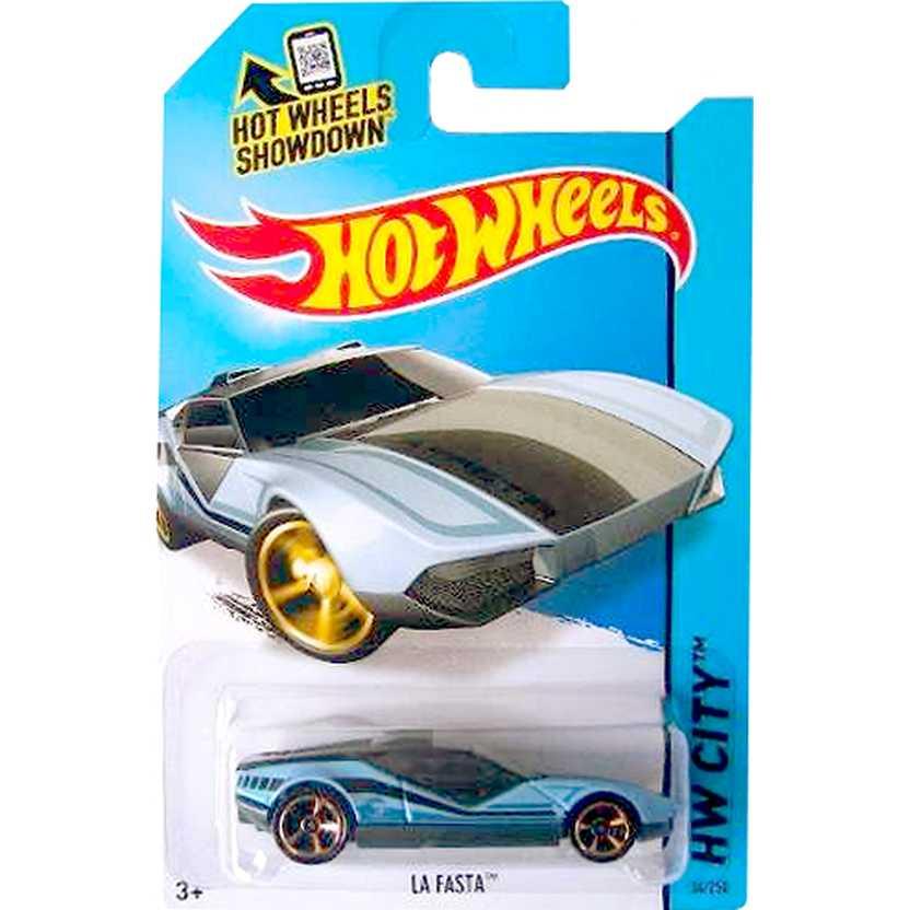 Hot Wheels 2014 T-Hunt La Fasta azul BFC54 series 34/250 Treasure Hunt escala 1/64