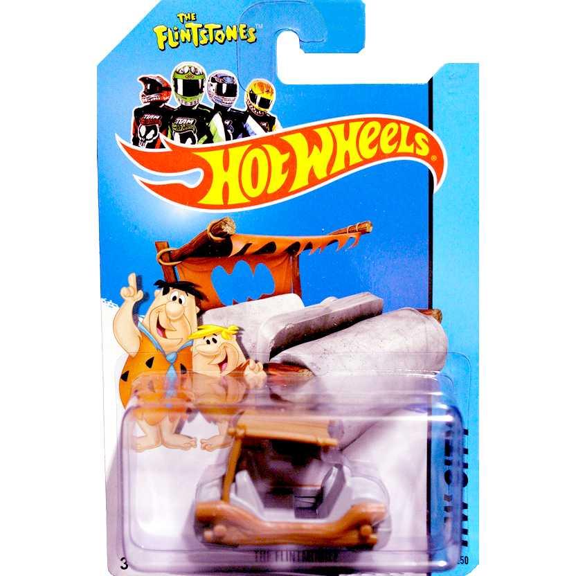 Hot Wheels 2014 The Flintmobile (Carro do Fred Flintstones) HW City series 83/250 BFC92