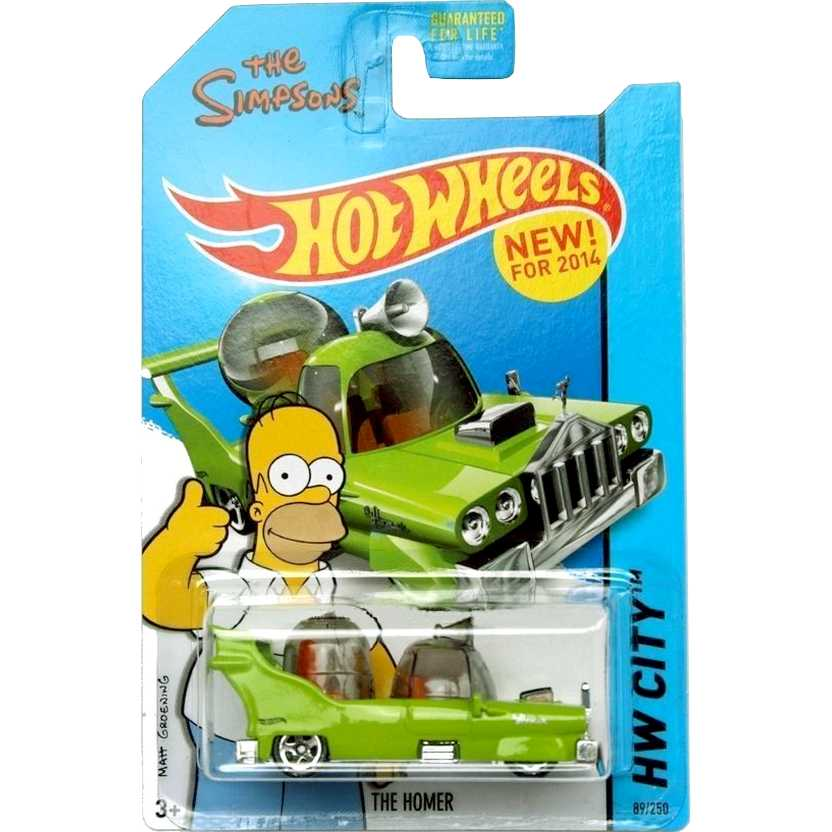 Hot Wheels 2014 The Homer - The Simpsons 89/250 BDC92 escala 1/64