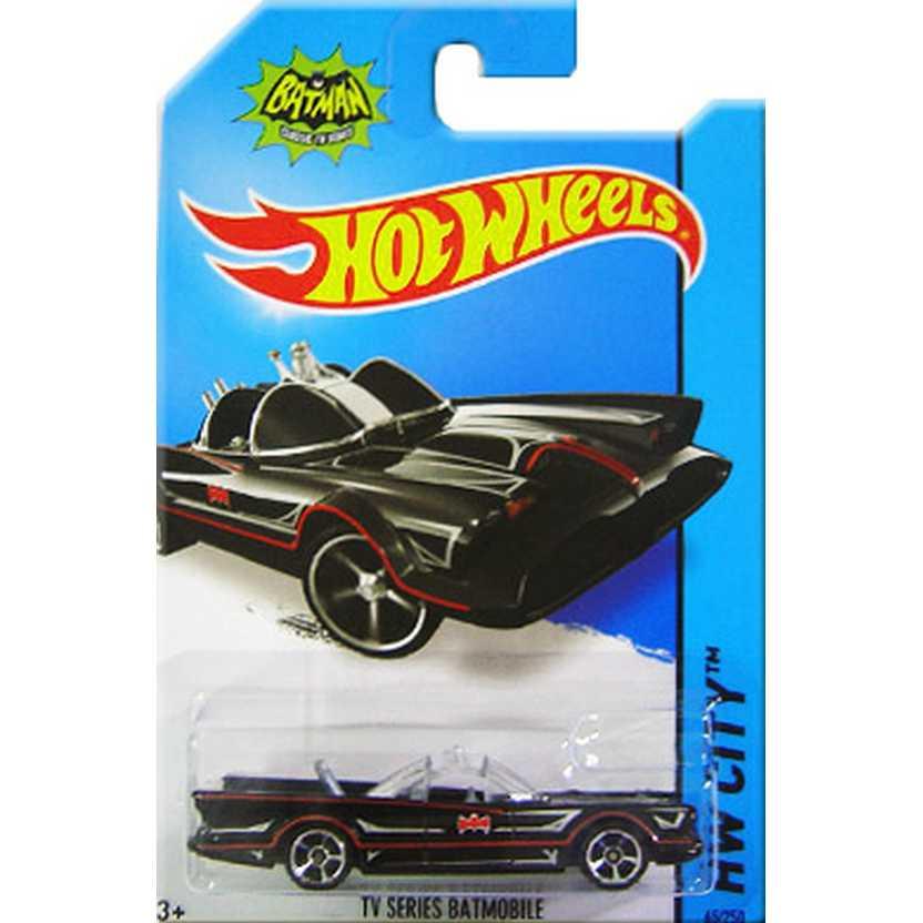 Hot Wheels 2014 Tv series Batmobile series 62/250 BFC77 Batmóvel do Adam West