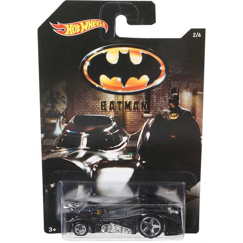 Hot Wheels 2015 Batman 1989 Batmobile (Michael Keaton) DFK70 series 2/6 escala 1/64