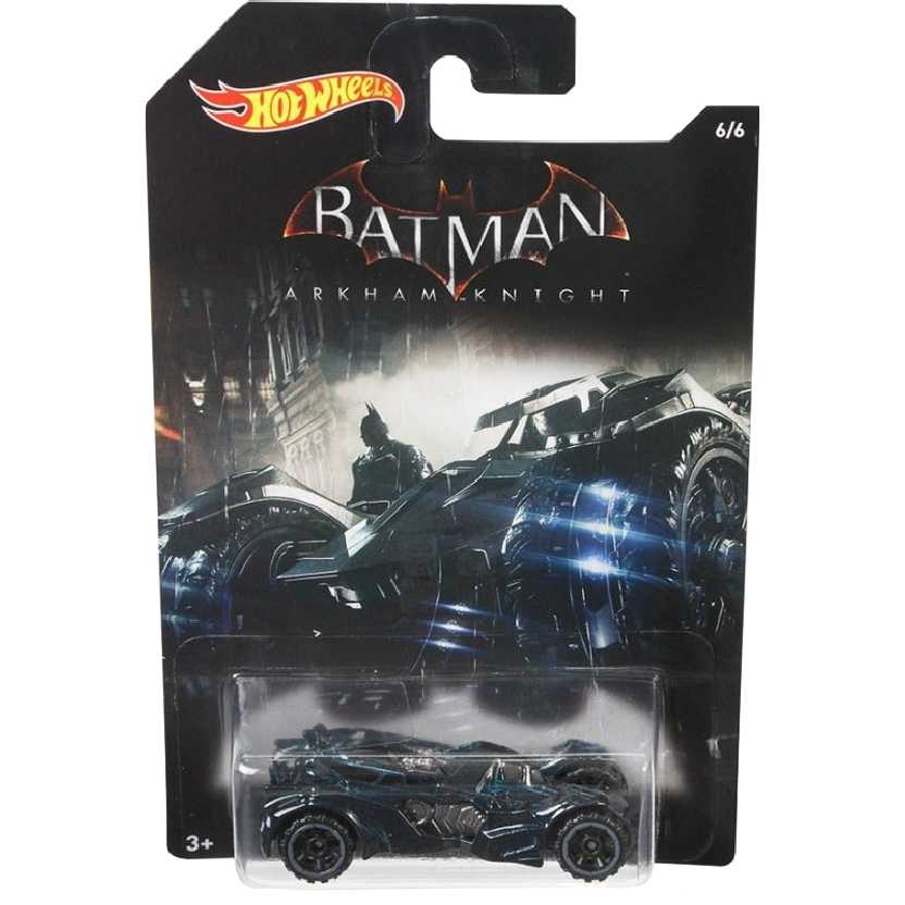 Hot Wheels 2015 Batman Arkham Knight Batmobile DFK72 series 6/6 escala 1/64